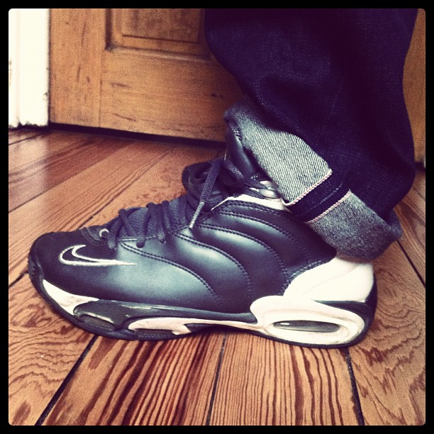 wearing… Nike Air Uptempo (2000